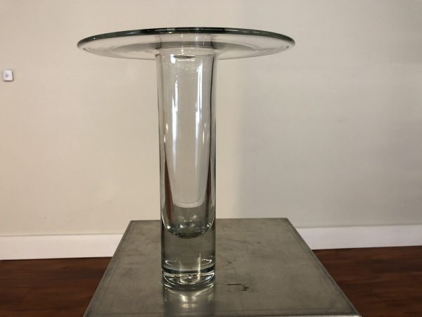 Blenko Hand Blown Glass Vase – $60