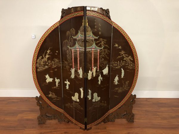 Vintage Double Sided Chinese Screen – $1295