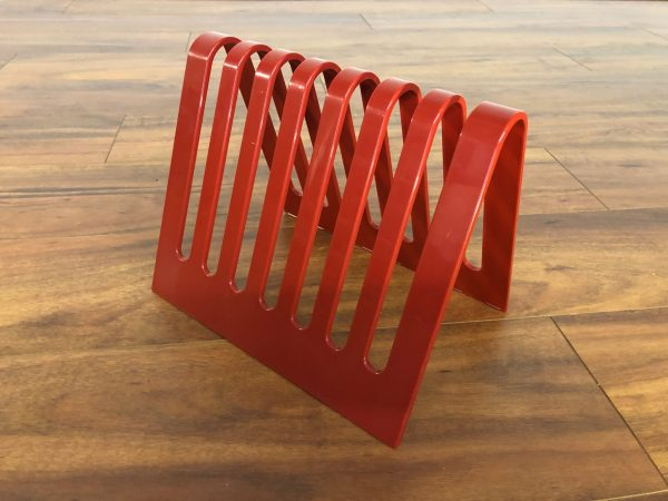 Sectrum Mod Red Magazine Rack – $695
