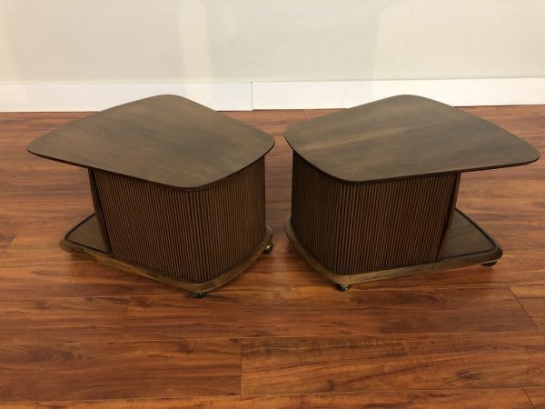 Lane First Edition Collection End Tables Pair – $695