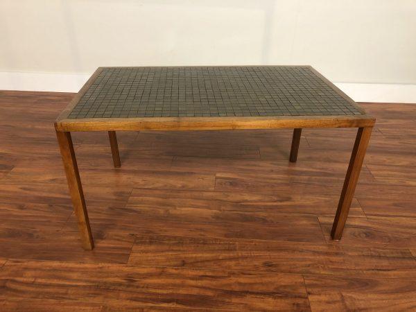 Martz Mid Century Tile Top Walnut Table – $1095