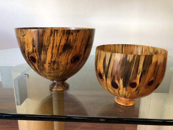 Jonathan Somaoang Norfolk Pine Turned Bowls Set – $895