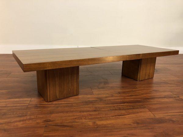 Brown Saltman Expanding Coffee Table – $1450