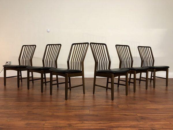 Moreddi Danish Dining Chairs by Svend Madsen – $2595