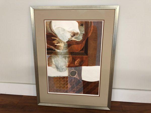 Sunol Alvar Original Embossed Lithograph – $895