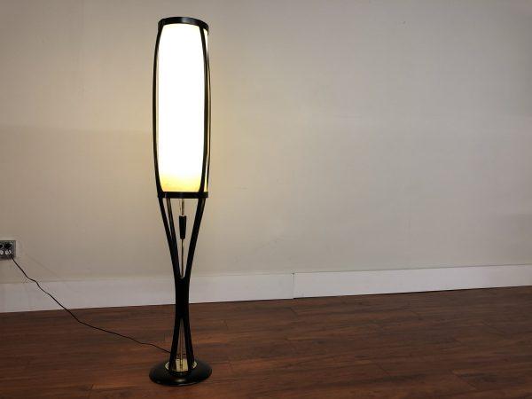 Modeline Vintage Floor Lamp Black Frame – $950