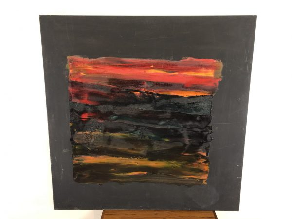 Martin Selig Abstract Oil On Canvas – $895