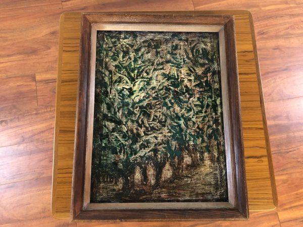 """Berniece Nelson """"Edge of the Grove"""" Oil on Canvas – $575"""
