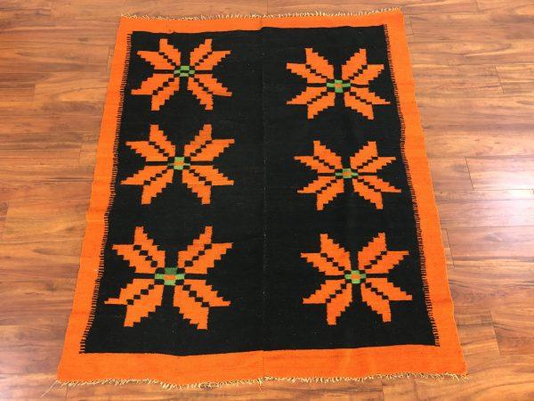 Peruvian Vintage Wool Frazada Blanket – $295