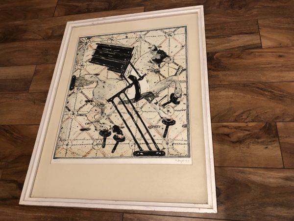 Peter Sengl Signed & Numbered Lithograph – $395