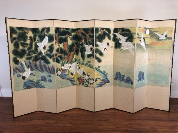 8 Panel Korean Room Divider Screen – $895