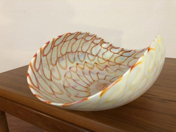 Murano Italian Glass Shell Bowl – $295