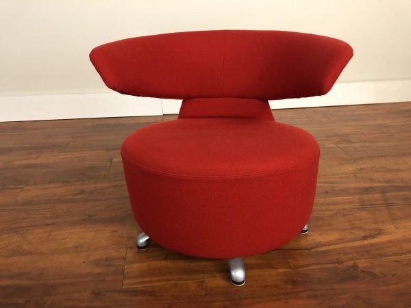 Cassina Biki Swivel Lounge Chair – $795