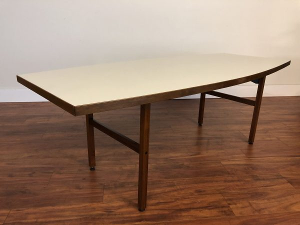 Vintage Walnut & Laminate Dining Table – $1495