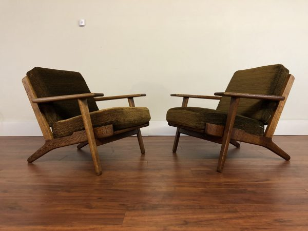 Hans Wegner GE-290 Chairs Pair – $4495