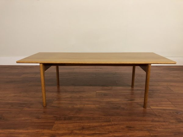 SOLD – Hans Wegner for Andreas Tuck Oak Coffee Table