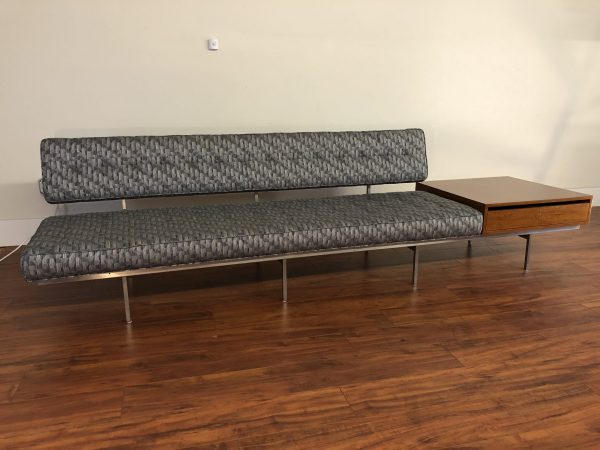 Florence Knoll Sofa With Attached Table – $4995