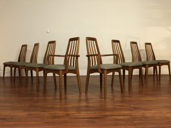 SOLD – Benny Linden Teak Dining Chairs Set Of 8