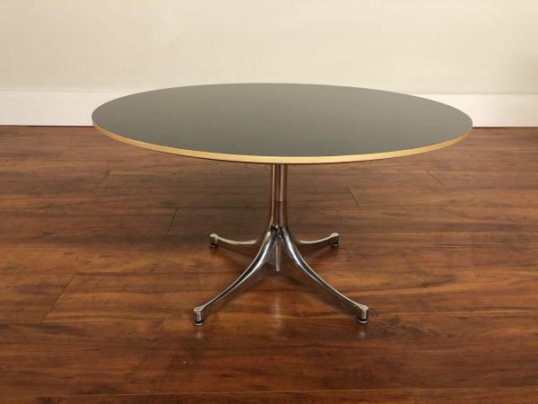 SOLD – George Nelson Pedestal Coffee Table