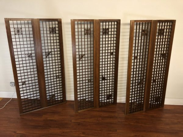 Mid Century Architectural Screens – $1595