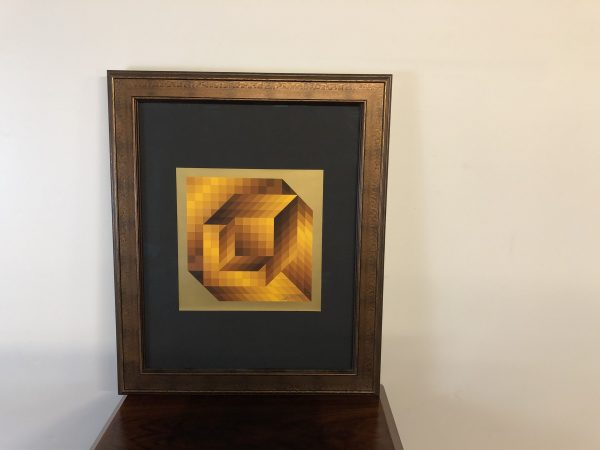Victor Vasarely Signed & Numbered Lithograph – $750