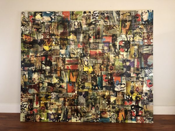Monumental Collage On Board – $995