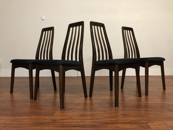 Benny Linden Dark Stained Dining Chairs – $695