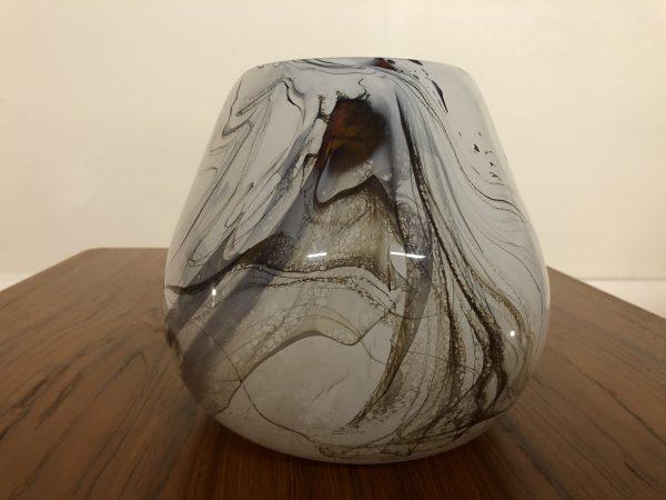 SOLD – Dan Bergsma Blown Art Glass Vase