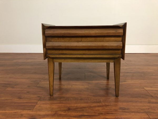 SOLD – Lane First Edition Walnut Nightstand