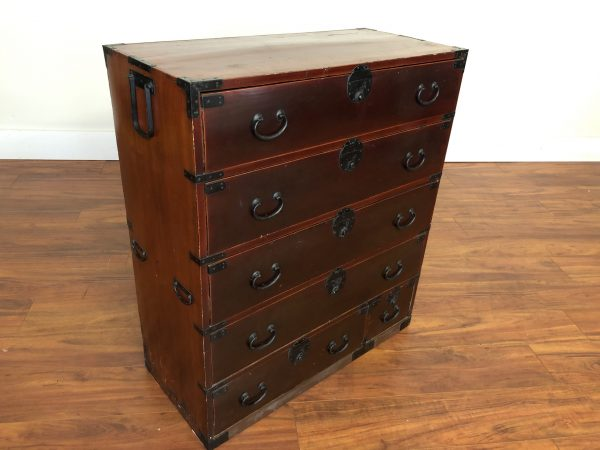 Antique Japanese One Piece Tansu Chest – $495