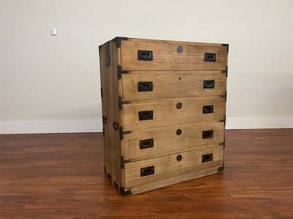 Japanese Vintage Tansu Chest – $795