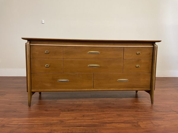 Drexel Projection 8 Drawer Lowboy Dresser – $1250