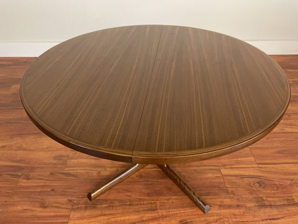 Gudme Danish Round Expandable Dining Table – $1995