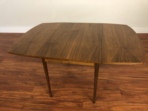 Drexel Declaration Adjustable Walnut Dining Table – $895