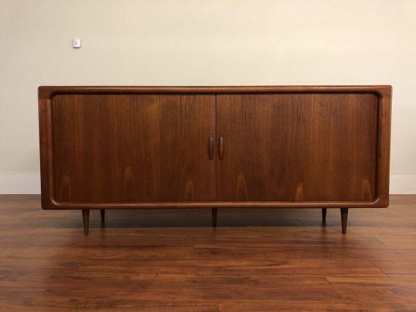 Dyrlund Teak Tambour Door Sideboard – $2495