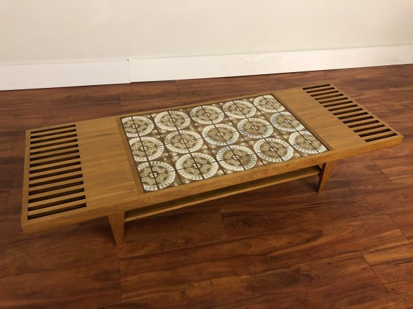 Custom Tile Top Coffee Table – $795