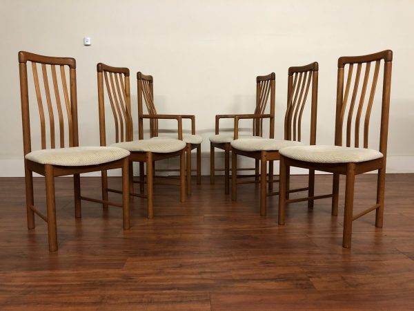 Benny Linden High Back Dining Chairs Set – $1195
