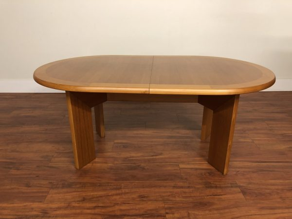 Skovby Teak Expandable Dining Table – $1450
