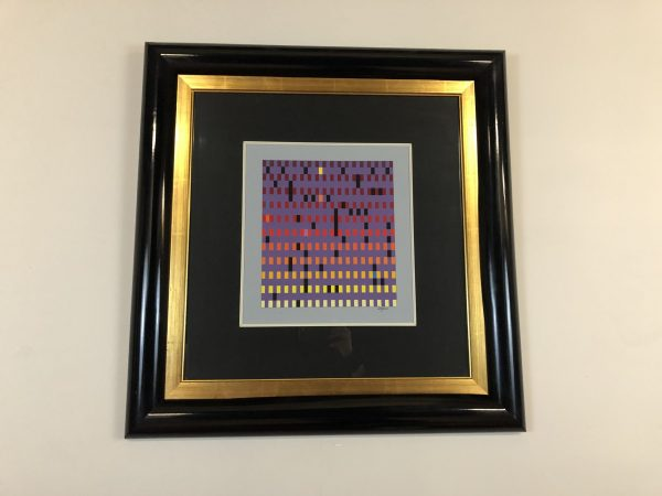 Yaacov Agam Signed Numbered Print – $1250