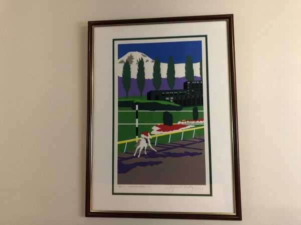 """Celebrating Longacres"" Signed & Numbered Print – $125"