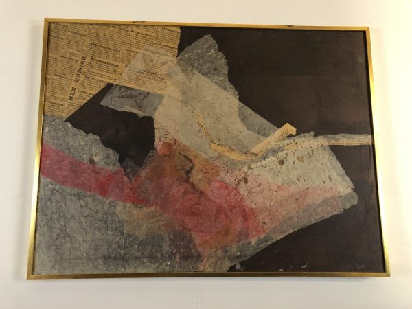 Doug Housen Mixed Media Collage – $295