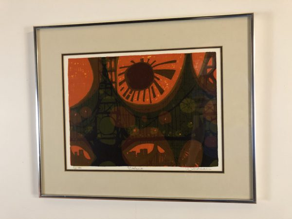 "David Weidman ""Bridge II"" Serigraph – $295"