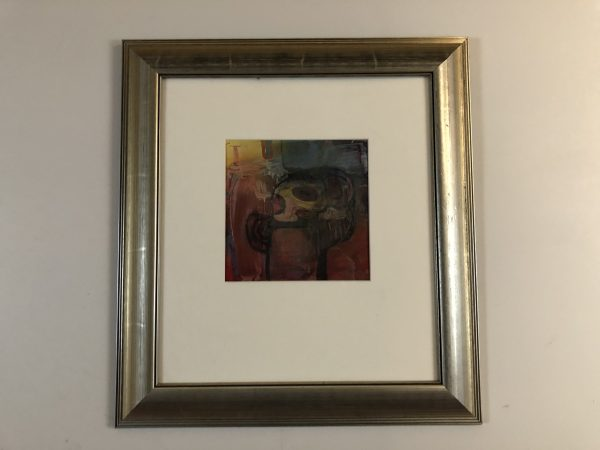 Vilius Slavinskas Abstract Head on Paper – $195