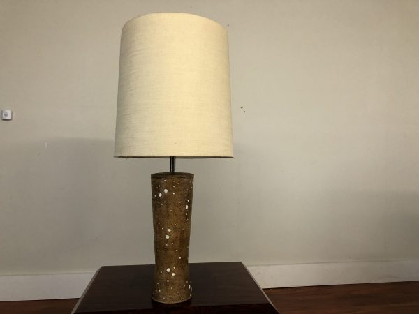 Vintage Ceramic Tall Table Lamp – $275