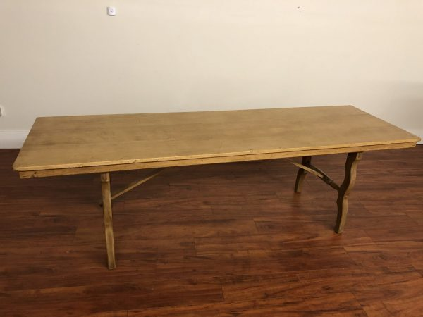 English Antique Long Narrow Dining Table – $2595