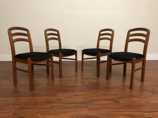 Benny Linden Teak Dining Chairs, Set of 4 – $675
