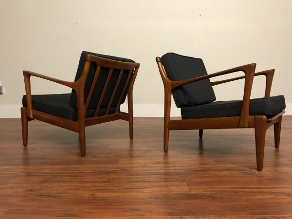 1960's Kuba Lounge Chairs by Bertil Fridhagen – $3595
