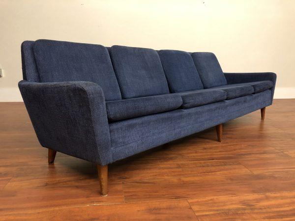 Dux Vintage Long Blue Sofa – $1995