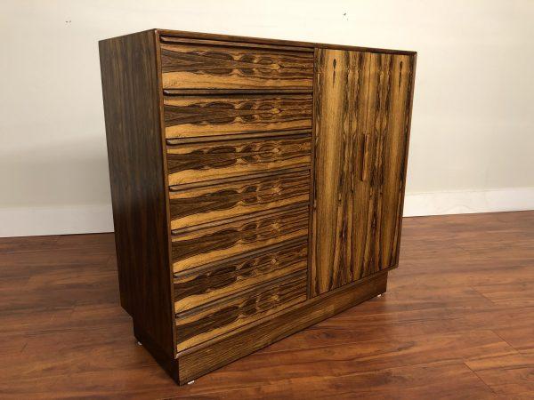 Westnofa Vintage Rosewood Gentleman's Chest – $2495