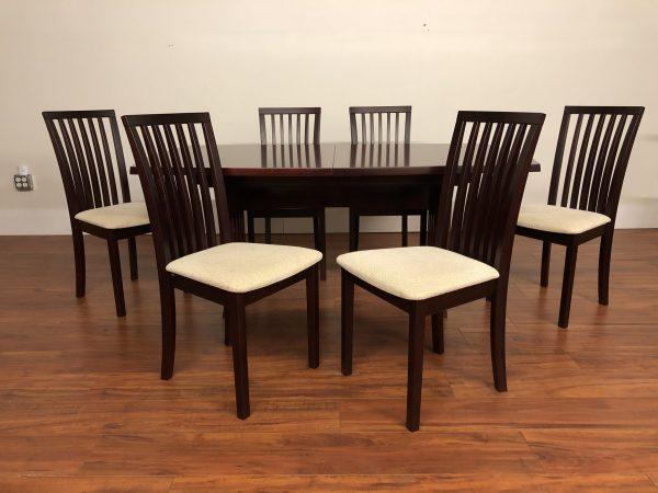 Skovby Danish Modern Dining Set – $2250
